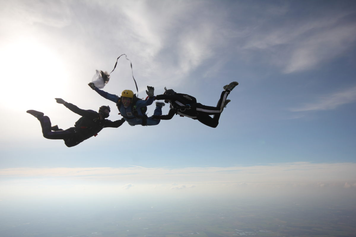 Accelerated Freefall   Skydive Hibaldstow