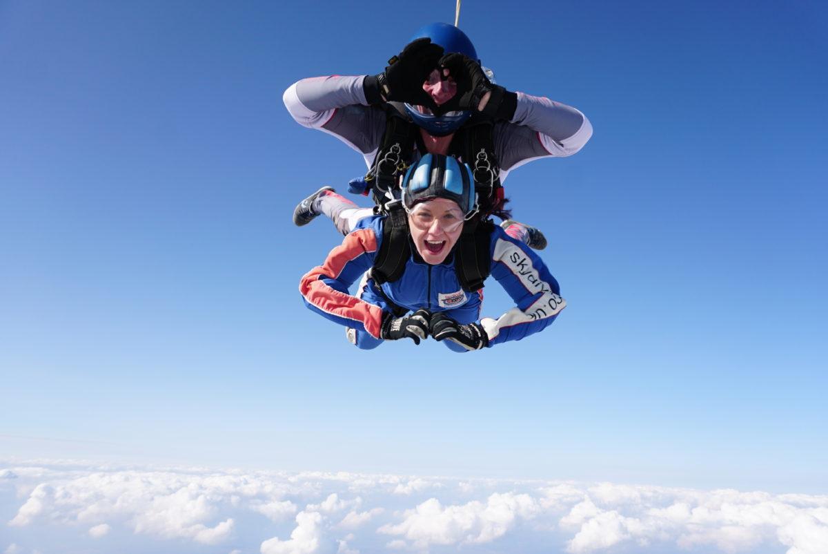 Tandem Skydiving | Skydive Hibaldstow