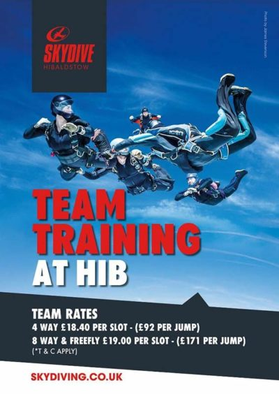 2019 Team Training Rates Announced