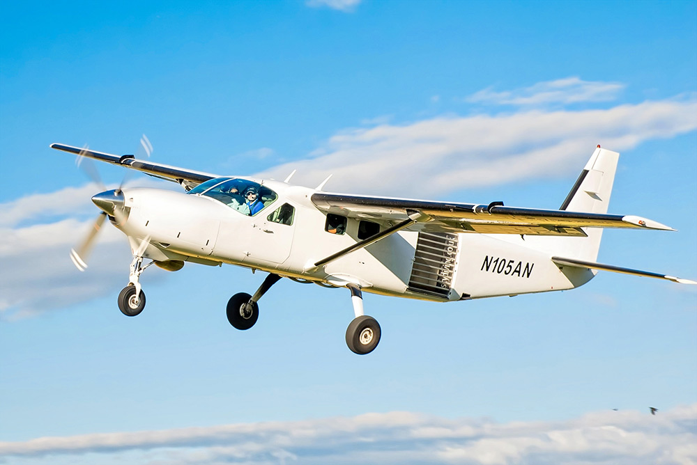 The Cessna Caravan Supervan 900 | Skydive Hibaldstow